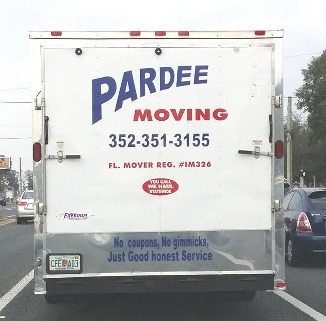 Pardee Moving & Storage provides both long distance moving services and local moving services